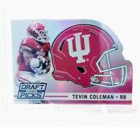 Tevin Coleman 2015 Draft Picks Helmet Prizms Die Cut Rookie RC Indiana 49ers
