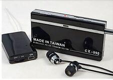 Security Spy Bug Sound Receiver Listening Device Wireless Voice Transmission Bug