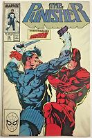 PUNISHER#10 VG 1988 VS DAREDEVIL MARVEL COMICS