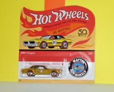 2018 HOT WHEELS 50TH GOLDEN ANNIVERSARY CAR 1 of 5 '68 Cougar  - Gold