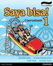 NEW Saya Bisa! 1  By Michelle Miller Book with Other Items Free Shipping