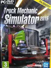 TRUCK MECHANIC SIMULATOR 2015. JUEGO PARA PC. PAL-ESP. NUEVO, PRECINTADO.