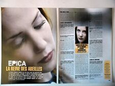 COUPURE DE PRESSE-CLIPPING :  EPICA [2pages] 2005 S.Simons,Consign To Oblivion