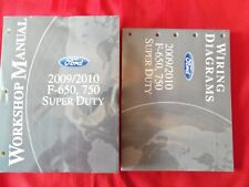 2009 2010 Ford Truck F650 F750 Super Duty  Service Manual + Wiring