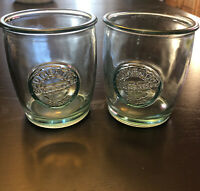 Authentic 100% - Set of 2 ~ SAN MIGUEL Tumbler Set Recycled Glasses 400cc