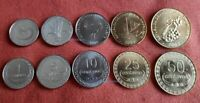 EAST TIMOR 2004 FULL SET 1 5 10 25 50 CENTAVOS 5 NEW COINS INDONESIA UNC G382