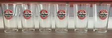 6 bicchieri in vetro Dreher vintage