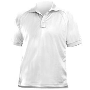 New BLAUER B.Cool Performance Short Sleeve Polo  Police White Men's Large 8139