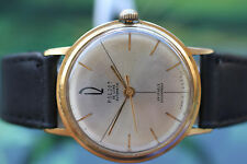 VINTAGE Men's Big Gold-Plated RUSSO Mech/auto POLJOT DELUXE WATCH 29 gioielli!