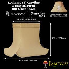 Interiors 1900 Rochamp Caroline 11in Honey Rectangular Pagoda Silk Shade