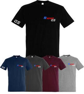 R1250GS T-Shirt Herren T-Shirt GS Angebot Top für Motorrad Fans Berge Kompass