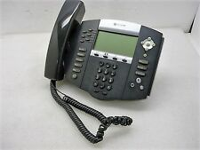 Polycom IP650 SIP Soundpoint Digital IP Phone w/ Handset and Base