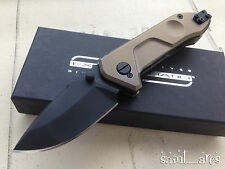 RARE! Extrema Ratio Ti-ROCK Black Limited Edition. Made in Italy. Military Knife