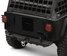 "SRC Classic Rear Bumper 2"" Hitch Smittybilt for 76-06 Jeep CJ  Wrangler YJ TJ"