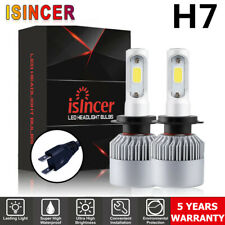 2X CREE H7 LED Headlight Conversion Bulb Kit 110W 26000LM High Power White 6000K