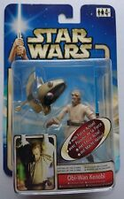 Star Wars OBI-WAN KENOBI CORUSCANT CHASE Attack Of The Clones Hasbro 2002 Boxed