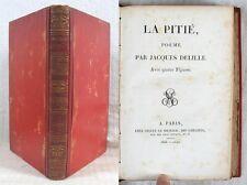 La Pitié, poème/ Jacques Delille/ É.O. 1803 / 5 grav. dont Gui Caron Franc-maçon