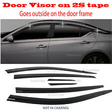 2019-2021 Nissan Altima DOOR SIDE WINDOW VENT VISORS RAIN GUARDS ⭐6pcs⭐ Set