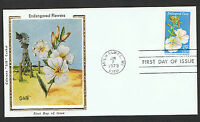 1979 15c Endangered Fauna set on 4 Colorano 'Silk' FDC's NS378-81