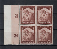 "5045) German Empire Third Reich 1935 mint never hinged ""The Saar returns home"" 6"