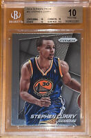 POP 1 of 2!💎🔥2014-15 Stephen Curry PANINI PRIZM #92 BGS 10 Pristine PSA🔥
