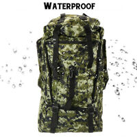 90L Outdoor Military Rucksacks Tactical Backpack Camping Hiking Trekking Bag