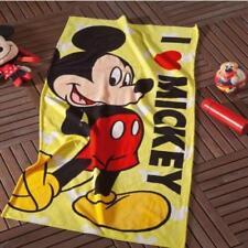 %100 Turkish cotton Kids Naturel bath beach towel /gift /new/disney mickey mouse