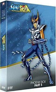 SAINT SEIYA;Les Chevaliers du Zodiaque-Phoenix Box Part 5-COFFRET DVD NEUF/CELLO