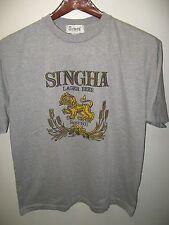 Singha Thai Lager Beer Tailandia Pálido Ale León Label Logo Pub de Casa Camiseta