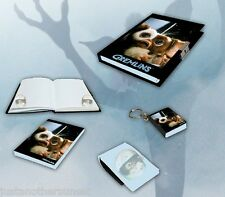 Gremlins Gizmo Gremlin Diary Journal Blank Book Set Mini Notepad Notebook NEW