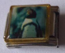 PENGUIN Italian Charm PE16 - fits ALL 9mm Classic Starter Bracelets - Cute Bird