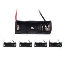 High Quality 5 x 23A A23 Cells Battery Size 12V Clip Holder Box Case Black hv2n