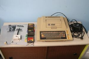 Atari 400 Computer System Console With manuals