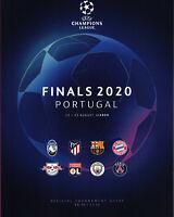 CHAMPIONS LEAGUE FINALS 2019/2020 Bayern München, FC Barcelona, RB Leipzig, ...