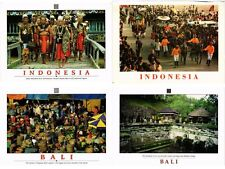 INDONESIA, ASIA, DUTCH INDIES 150 Modern Postcards includin ETHNIC TYPES