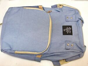 Eposha blue nappy backpack