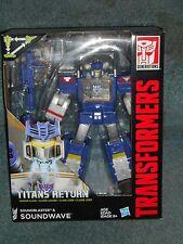 Transformers Titans Return DECEPTICON SOUNDWAVE G1 Homage Headmaster MISB
