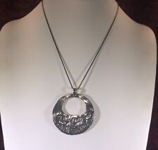 Didae sterling silver birds pendant necklace