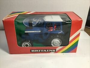 Britains 9523 Ford TW 20 Tractor 1980 Mint In Box Ex Shop Stock