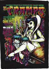 THE CRAMPS PATCH GORE GIRLS HORROR ZOMBIE LUX POISON IVY PSYCHOBILLY GARAGE A6+