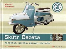 Book - SKUTR Cezeta 501 502 - Scooter Roller - History - Marcel Malypetr Grada
