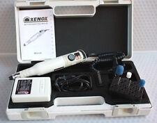 Fußpflegegerät mobil XENOX Nagelfräser Hornhaut Set Bits Schleifgerät im Koffer