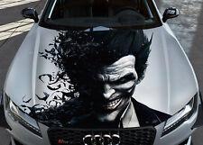Joker #2 Car Bonnet Wrap Full Color Vinyl Sticker Decal Fit Any Car