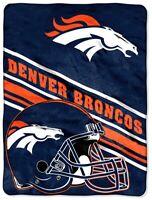 Denver Broncos 60x80 Micro-Raschel Blanket