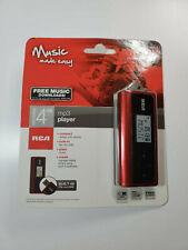 RCA USB MP3 Player 4GB #TH1814WM Flash Thumb Drive Flip-Out USB New