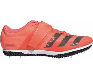 adidas Adizero High Jump Field Event Spikes - Pink Size 8.5 EG6169