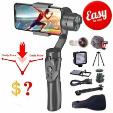 3-Axis Handheld PTZ Stabilizer Gimbal Smartphone Gopro Camera Selfie Stick Tripo