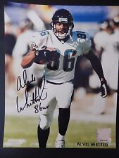 """Alvis Whitted Autographed 8"""" X 10"""" Photograph"""