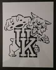 "Wildcats UK University Kentucky 8.5"" x 11"" Custom Stencil FAST FREE SHIPPING"
