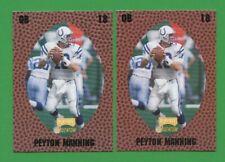 1998 Playoff Momentum #146 Peyton Manning (RC) 2 Card Lot !!!!